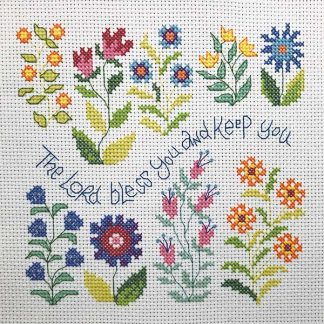 Hannah Dunnett Bless You and Keep You Cross Stitch Kit
