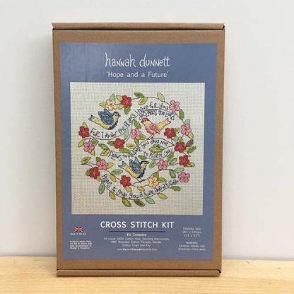 Hannah Dunnett Hope and a Future Cross Stitch Kit box image
